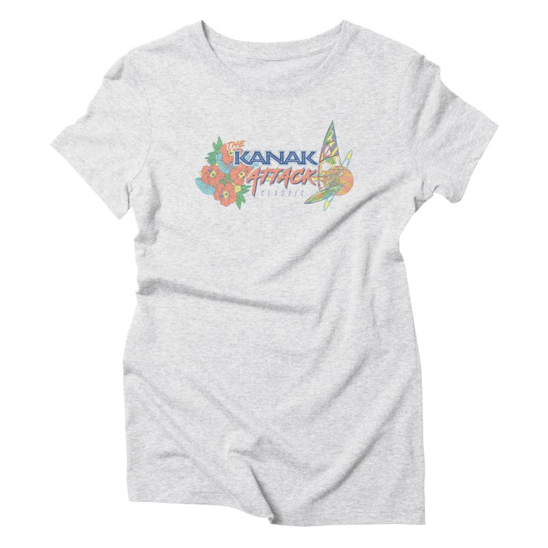 The Kanak Attack Classic Women's Triblend T-shirt by Dega Studios