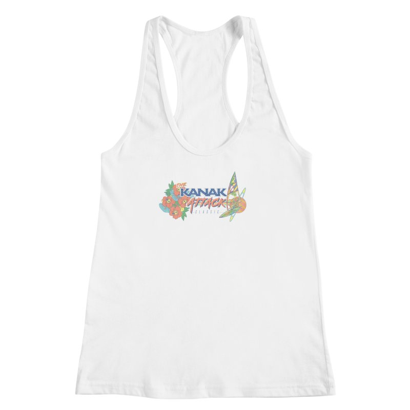 The Kanak Attack Classic Women's Racerback Tank by Dega Studios