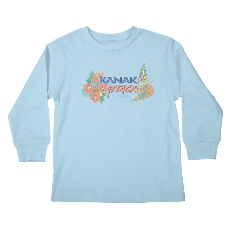 The Kanak Attack Classic Kids Longsleeve T-Shirt by Dega Studios