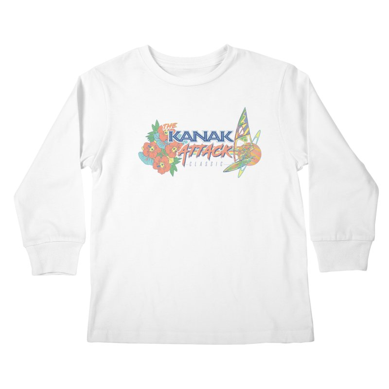 The Kanak Attack Classic Kids Longsleeve T-Shirt by Dega Studios