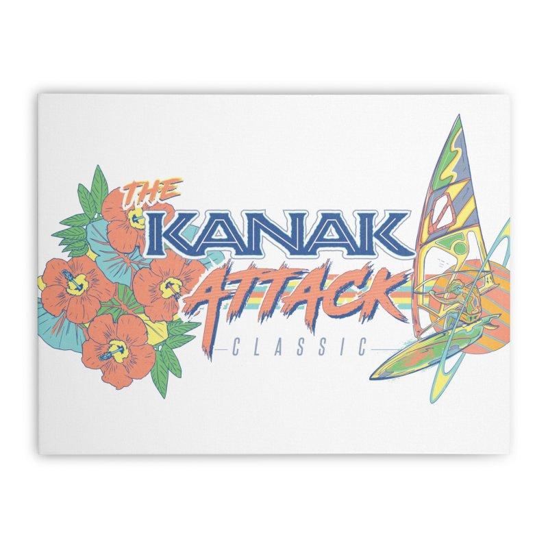 The Kanak Attack Classic Home Stretched Canvas by Dega Studios