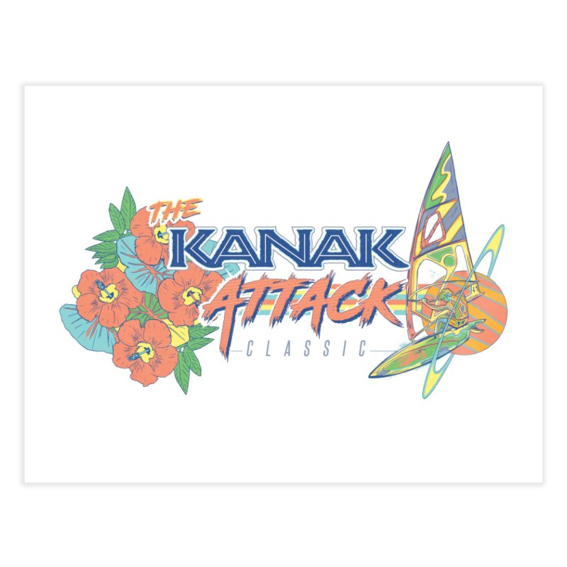 The Kanak Attack Classic Home Fine Art Print by Dega Studios