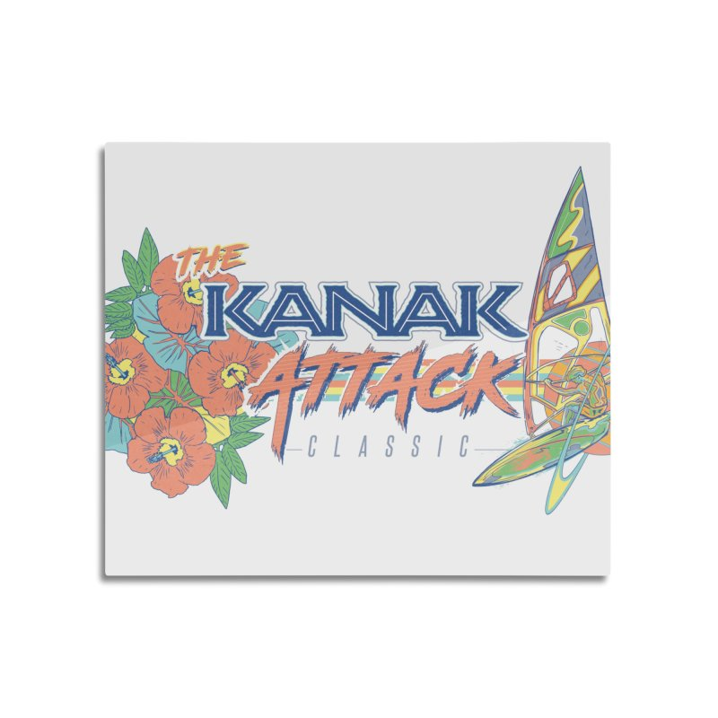 The Kanak Attack Classic Home Mounted Aluminum Print by Dega Studios