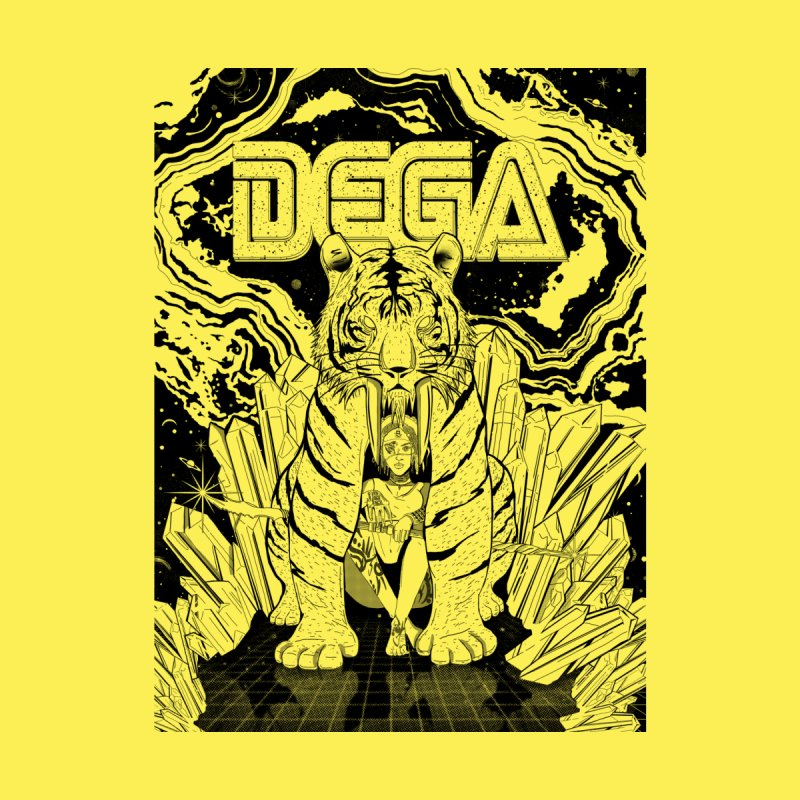 Dega Fatalis-LoFi Men's Zip-Up Hoody by Dega Studios