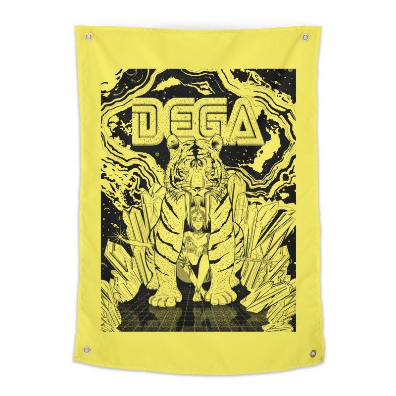 Dega Fatalis-LoFi Home Tapestry by Dega Studios