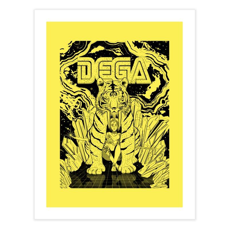 Dega Fatalis-LoFi Home Fine Art Print by Dega Studios