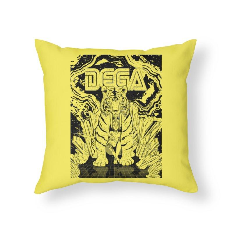Dega Fatalis-LoFi Home Throw Pillow by Dega Studios