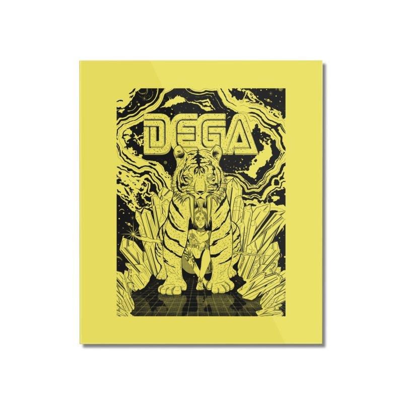 Dega Fatalis-LoFi Home Mounted Acrylic Print by Dega Studios