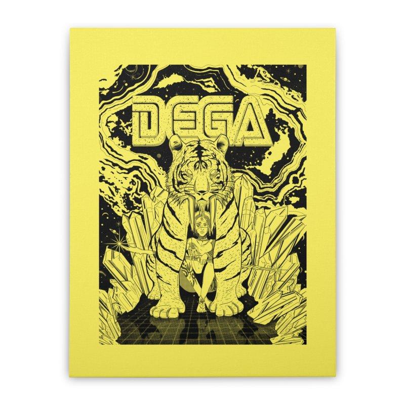 Dega Fatalis-LoFi Home Stretched Canvas by Dega Studios