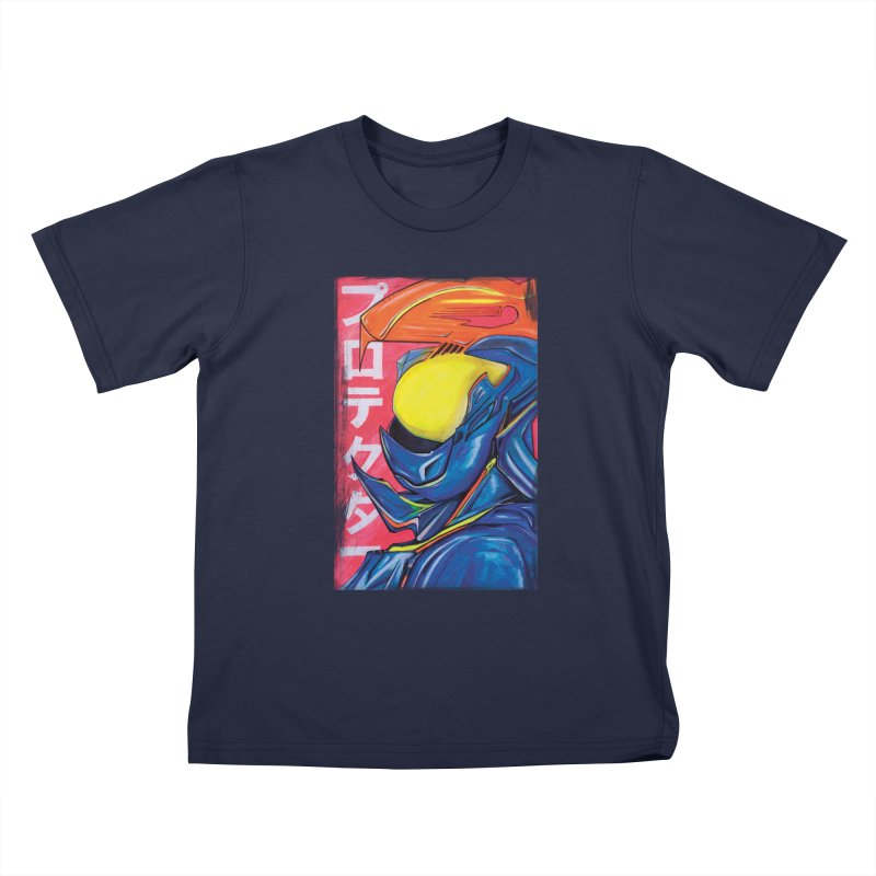 P R O T E C T O R Kids T-Shirt by Dega Studios