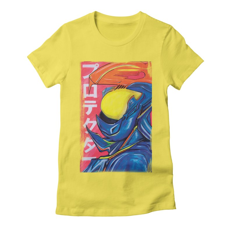 P R O T E C T O R Women's T-Shirt by Dega Studios