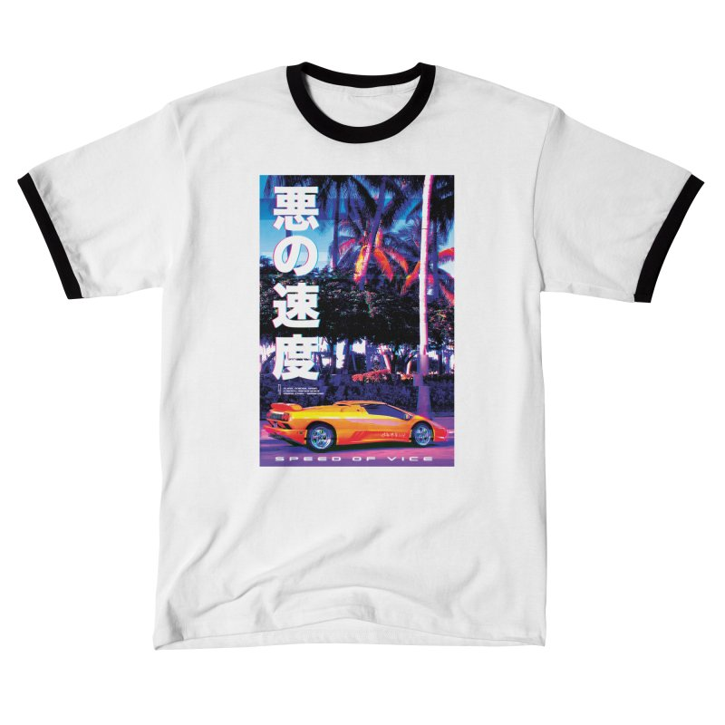 Speed of Vice Men's T-Shirt by Dega Studios