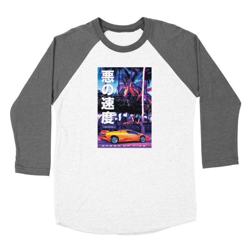 Speed of Vice Women's Longsleeve T-Shirt by Dega Studios