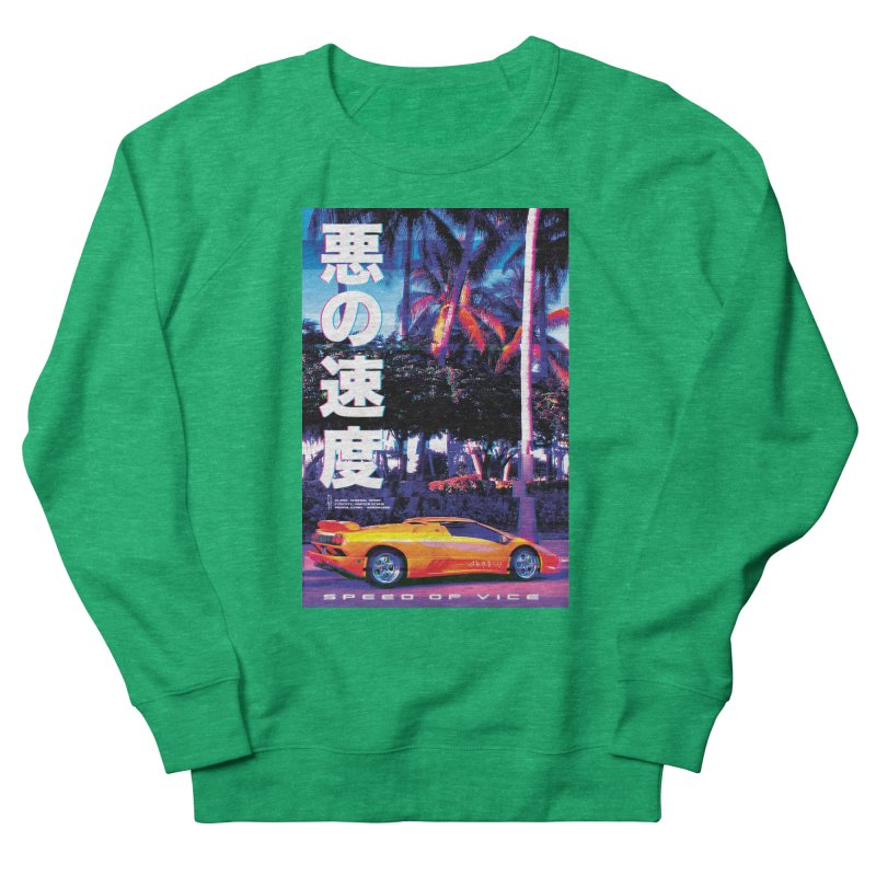 Speed of Vice Women's Sweatshirt by Dega Studios