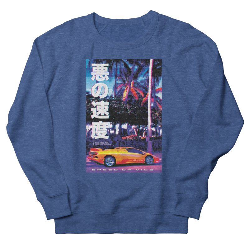 Speed of Vice Men's Sweatshirt by Dega Studios