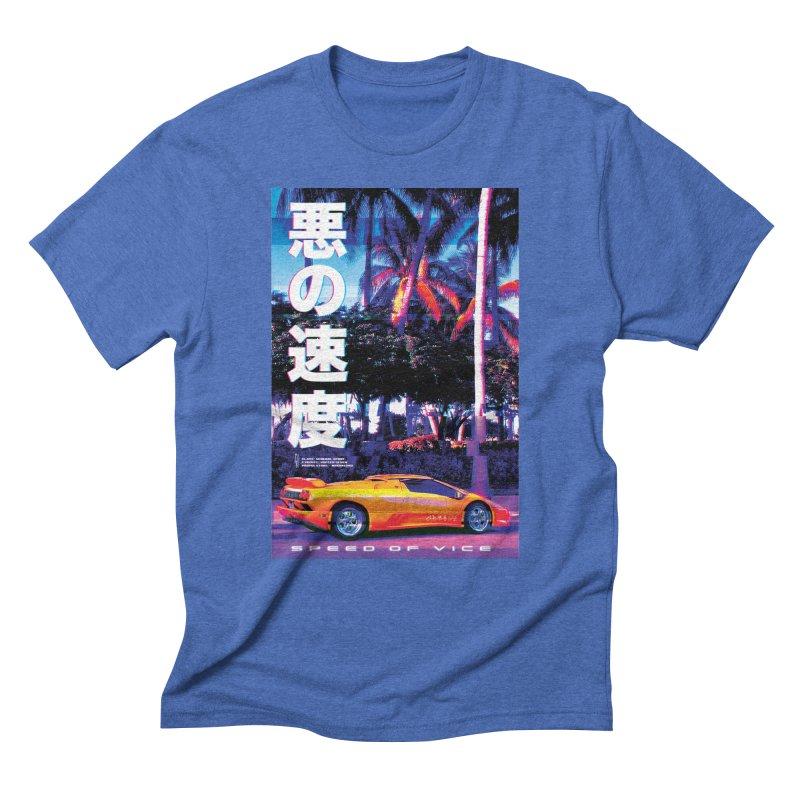 Speed of Vice Men's T-Shirt by Dega Studios
