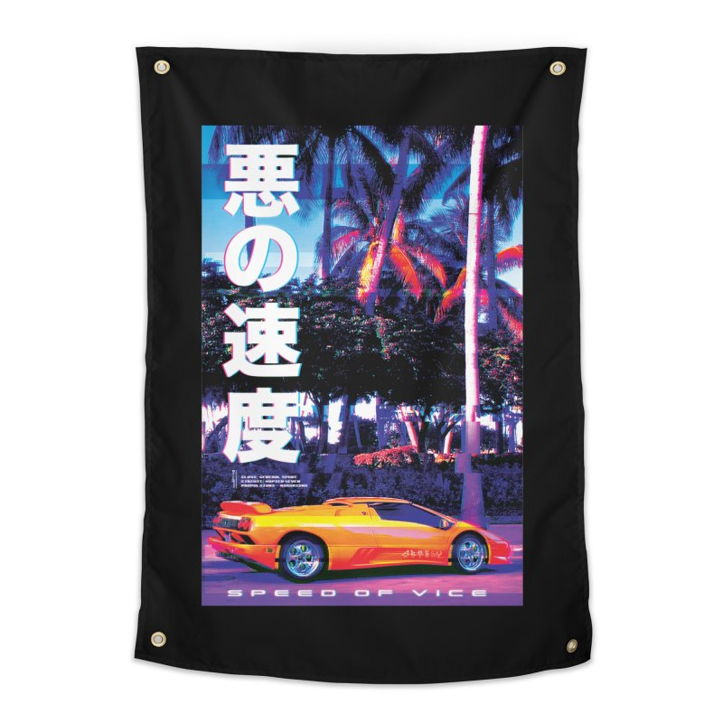 Speed of Vice Home Tapestry by Dega Studios