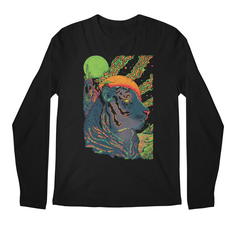 Guarding the Rift Men's Longsleeve T-Shirt by Dega Studios