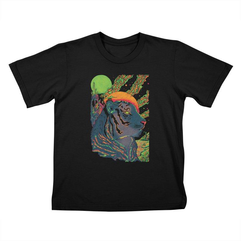 Guarding the Rift Kids T-Shirt by Dega Studios
