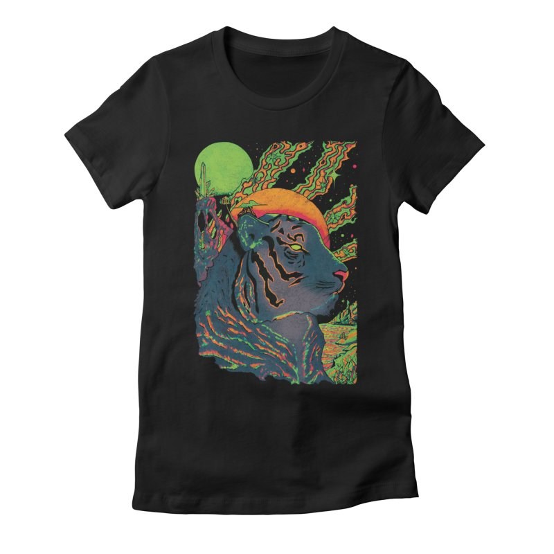 Guarding the Rift Women's T-Shirt by Dega Studios