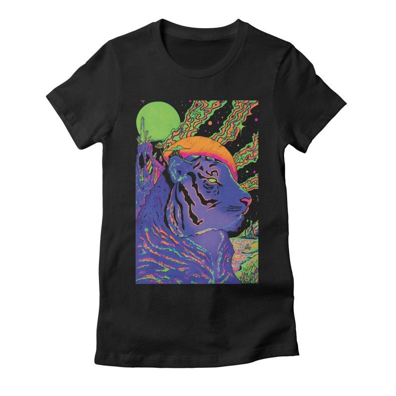 Guarding the Rift Women's T-Shirt by Dega Studios
