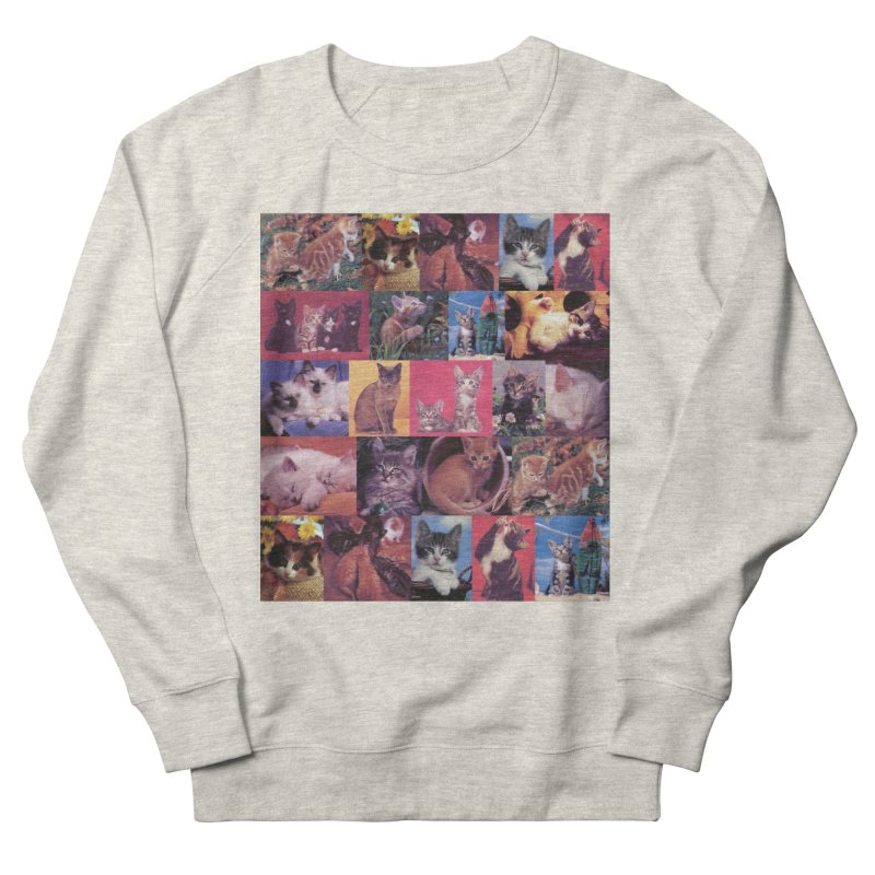 kit-tee Men's Sweatshirt by Dega Studios