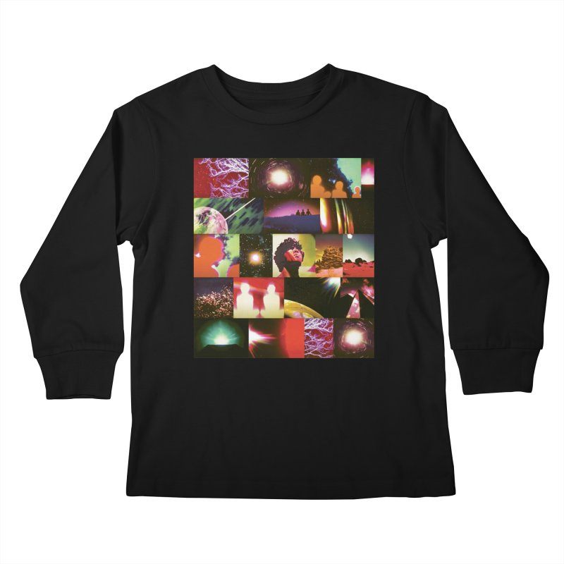 Light Body Experimental Kids Longsleeve T-Shirt by Dega Studios