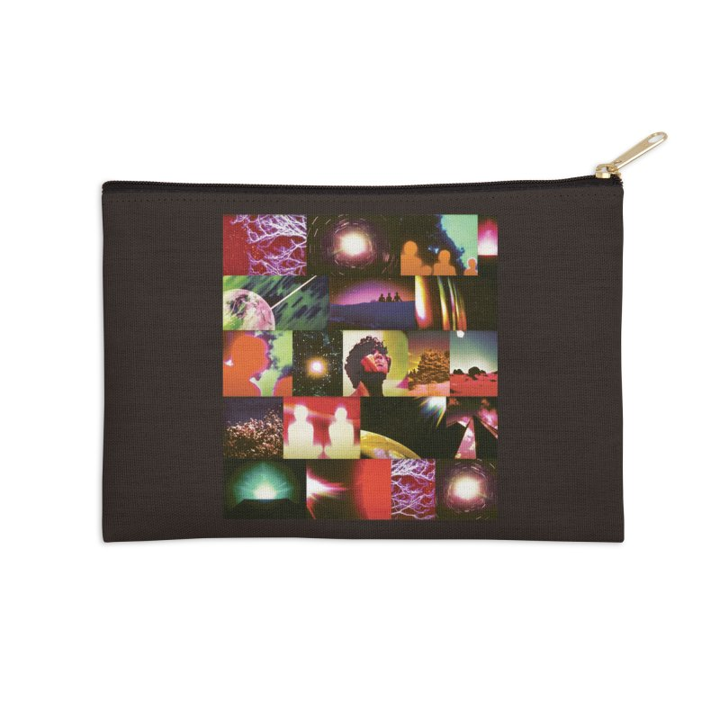 Light Body Experimental Accessories Zip Pouch by Dega Studios