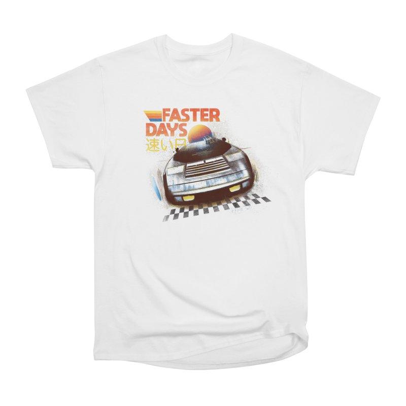 Faster Days Women's T-Shirt by Dega Studios