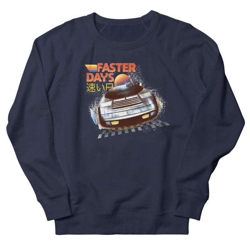 Faster Days Women's Sweatshirt by Dega Studios
