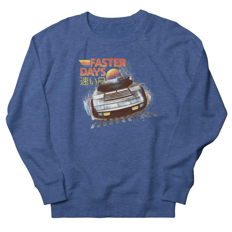 Faster Days Men's Sweatshirt by Dega Studios