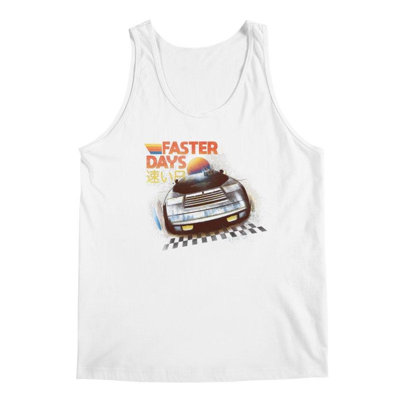 Faster Days Men's Tank by Dega Studios