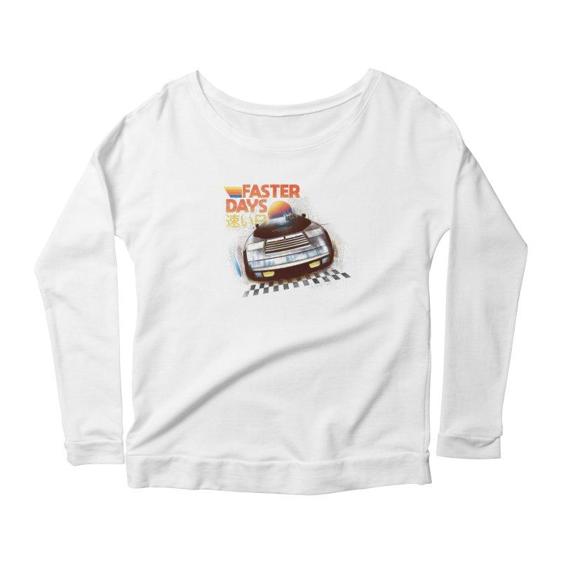 Faster Days Women's Longsleeve T-Shirt by Dega Studios