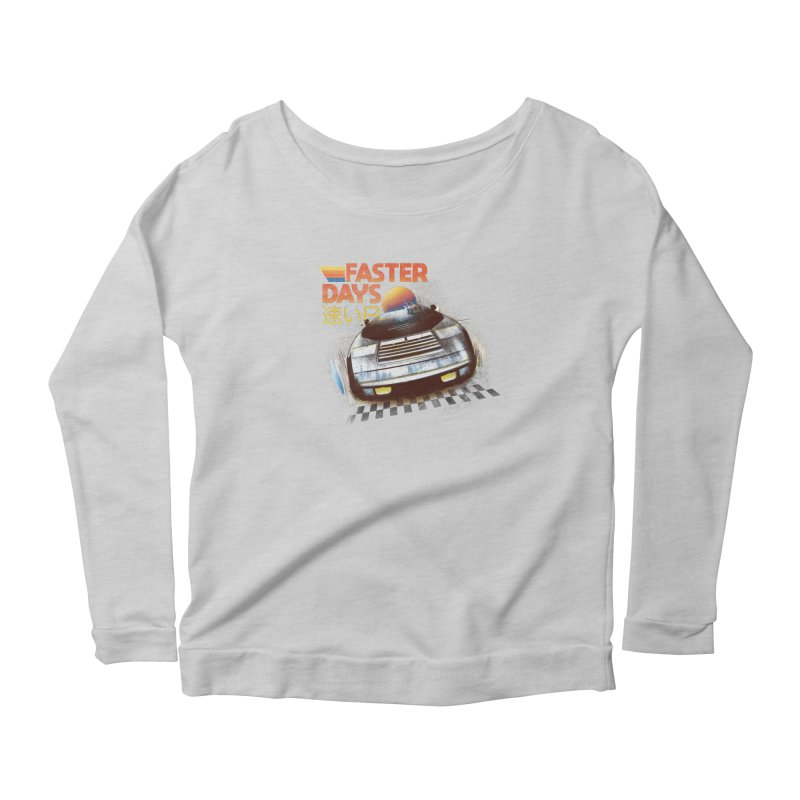 Faster Days Women's Longsleeve T-Shirt by Dega Studios