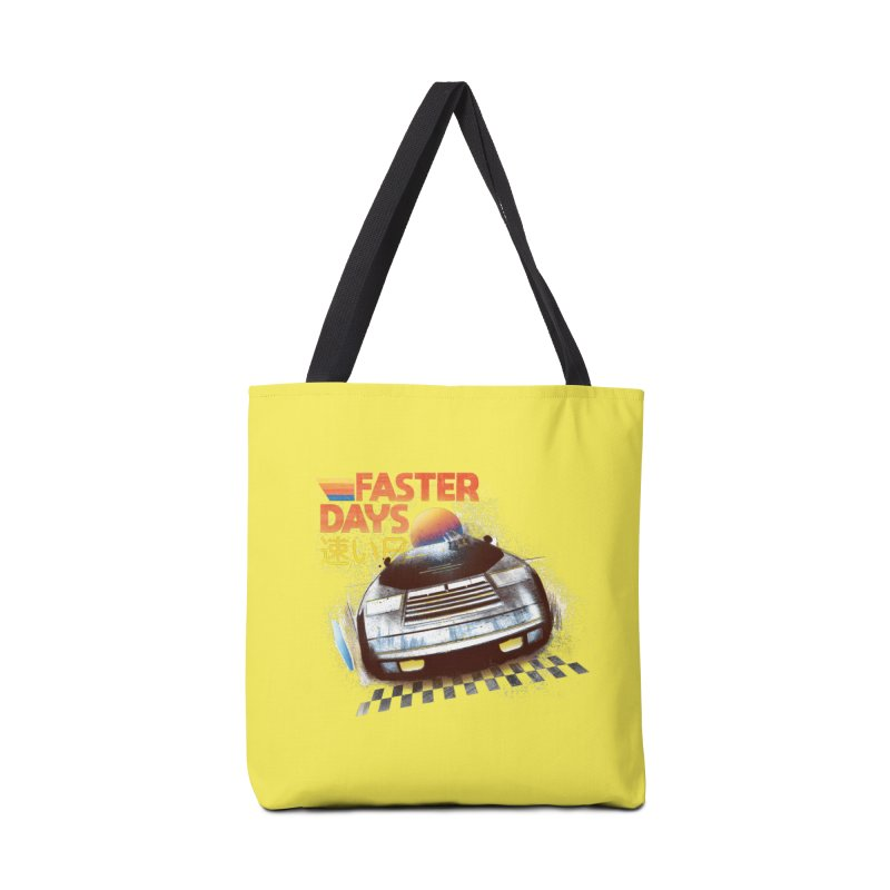 Faster Days Accessories Bag by Dega Studios