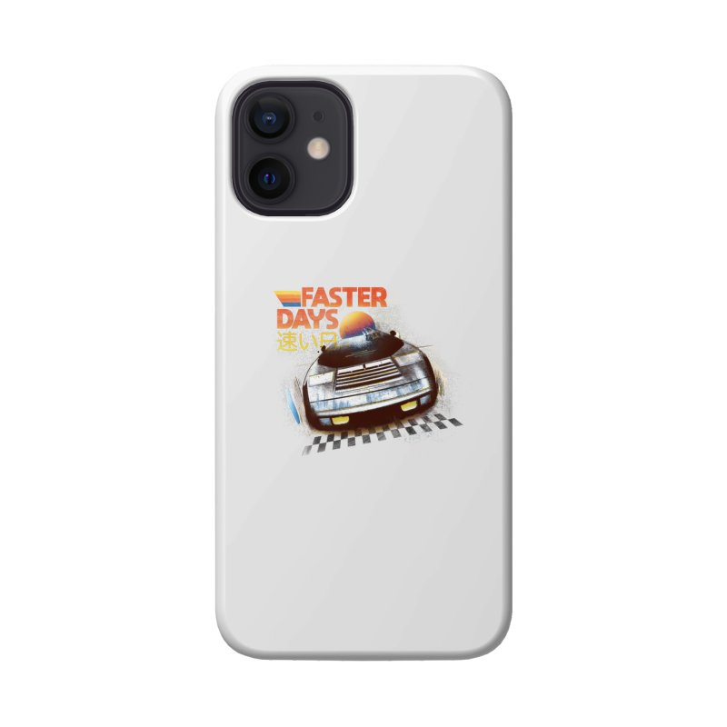 Faster Days Accessories Phone Case by Dega Studios