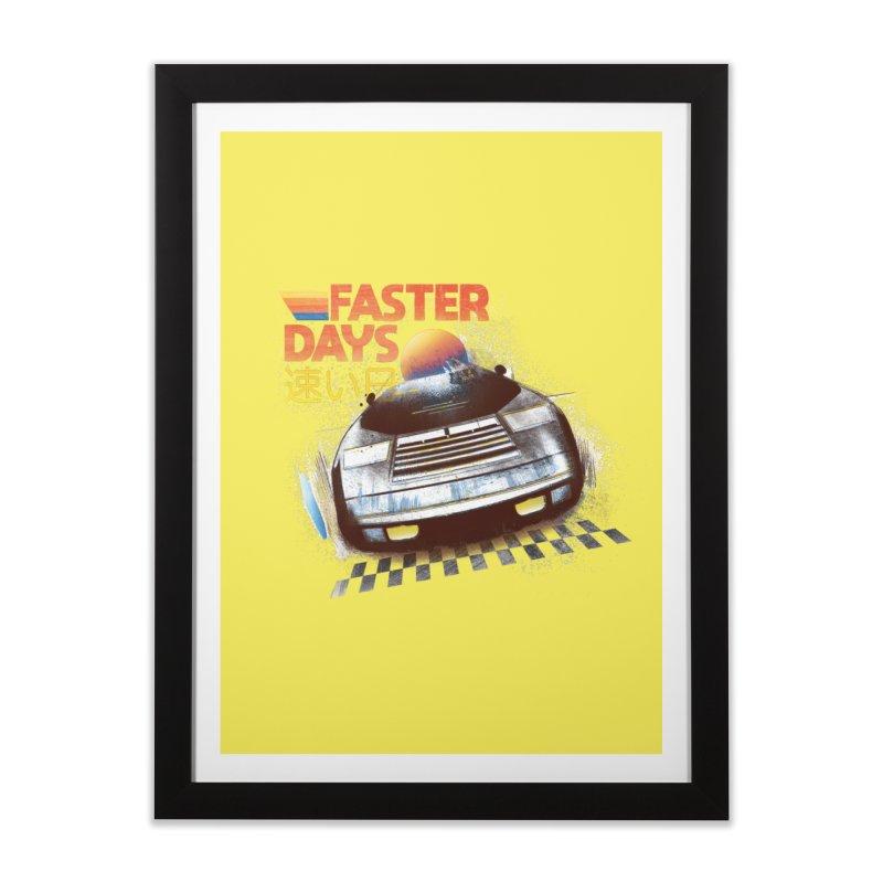 Faster Days Home Framed Fine Art Print by Dega Studios