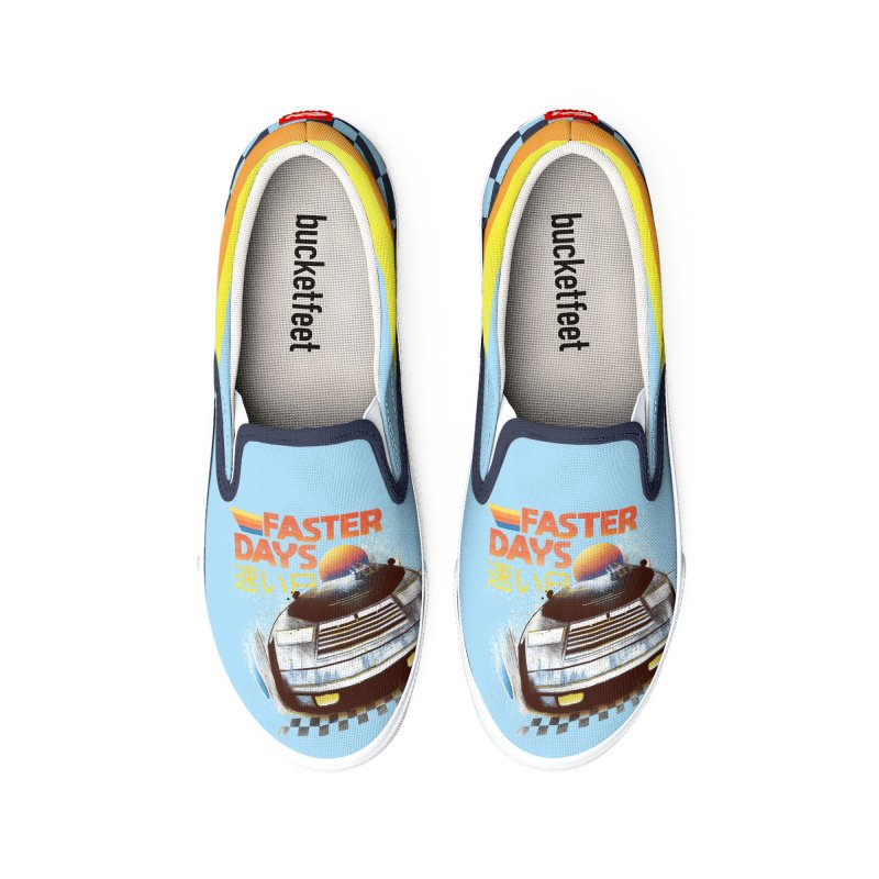 Faster Days Women's Shoes by Dega Studios