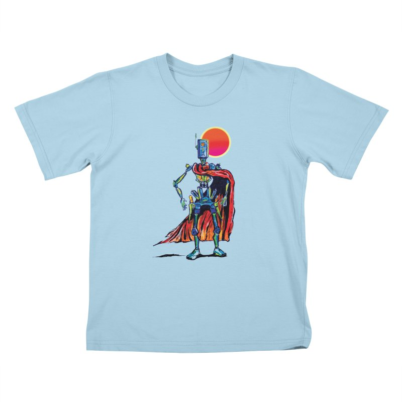 High Noon Kids T-Shirt by Dega Studios