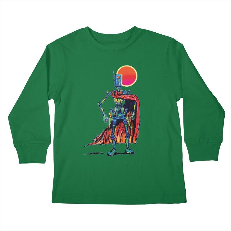 High Noon Kids Longsleeve T-Shirt by Dega Studios