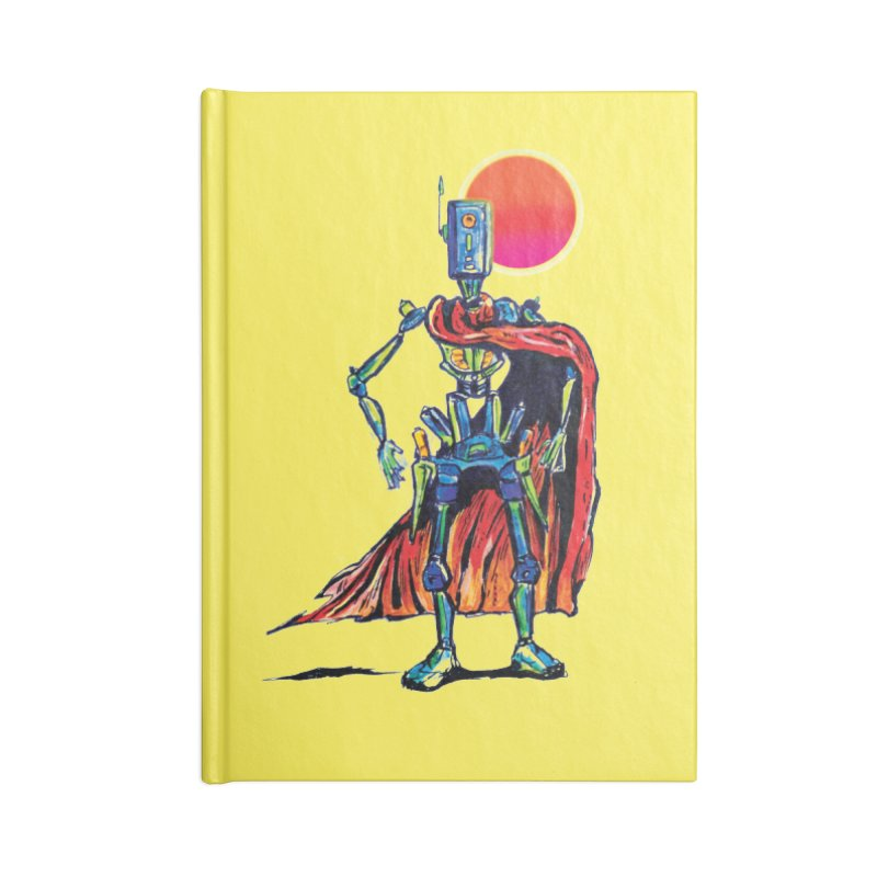 High Noon Accessories Notebook by Dega Studios