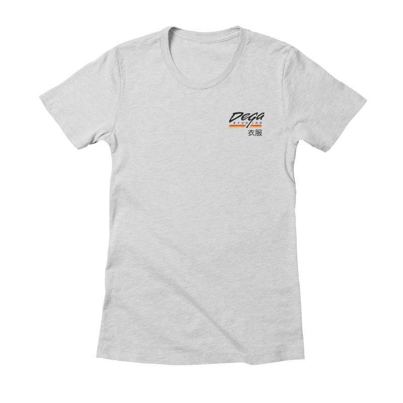 Japanese Domestic - Light Women's T-Shirt by Dega Studios