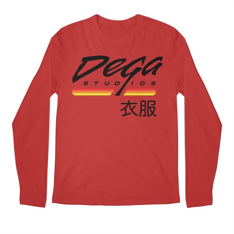 Japanese Domestic - Light Men's Longsleeve T-Shirt by Dega Studios