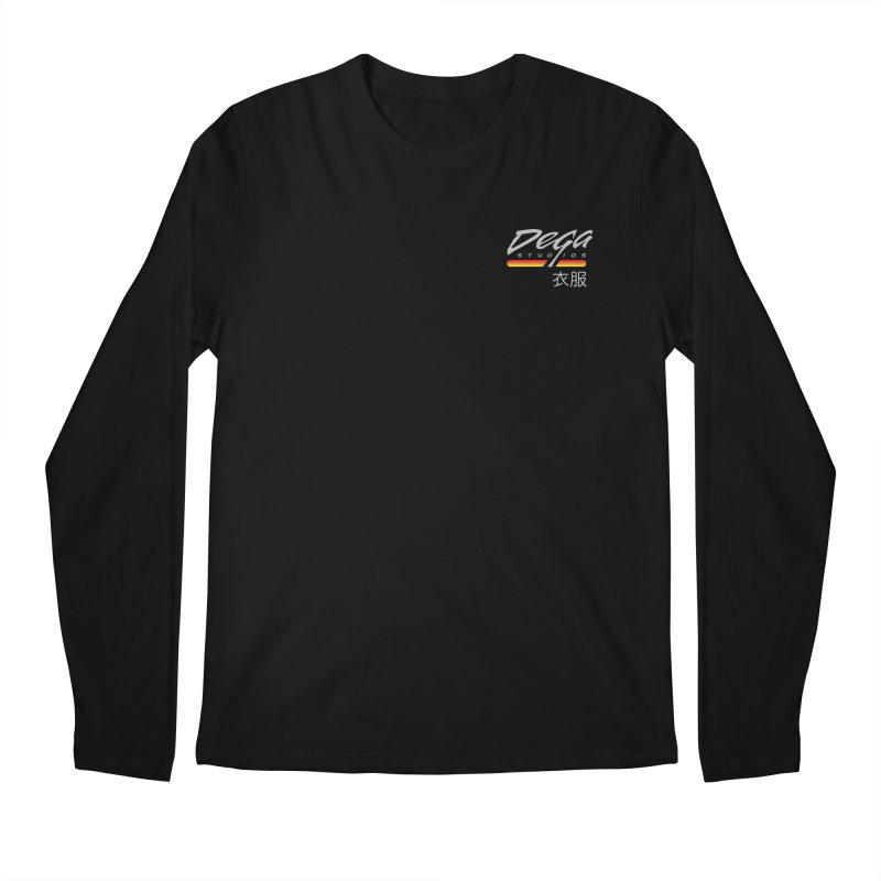 Japanese Domestic - Dark Men's Longsleeve T-Shirt by Dega Studios
