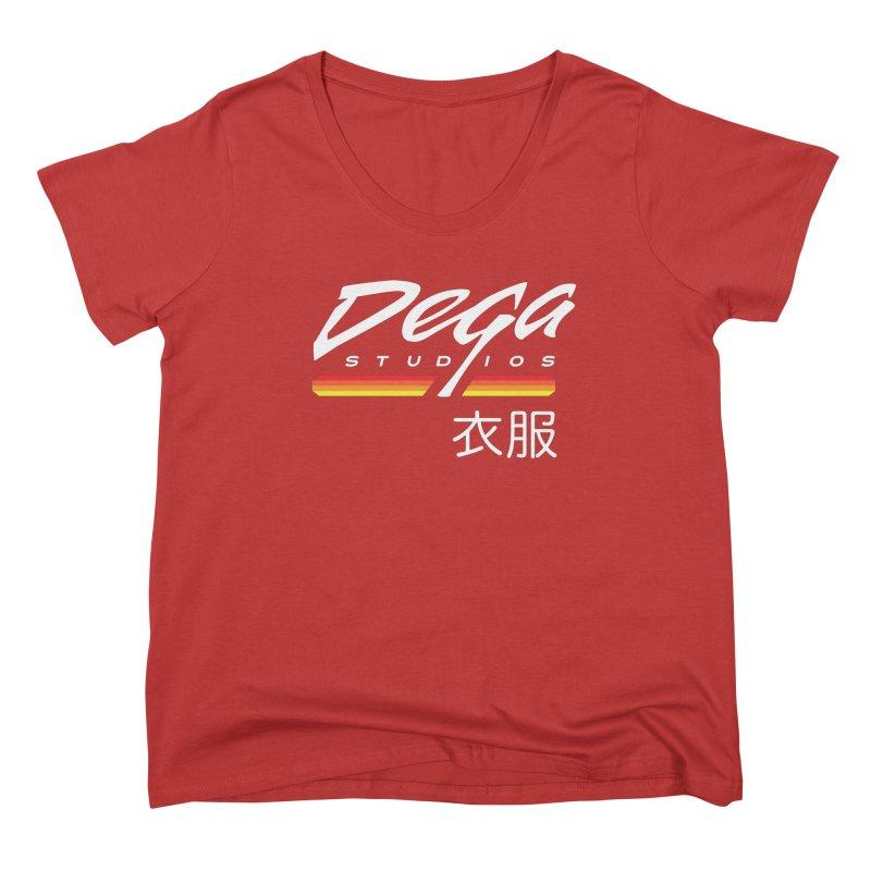 Japanese Domestic - Dark Women's Scoop Neck by Dega Studios