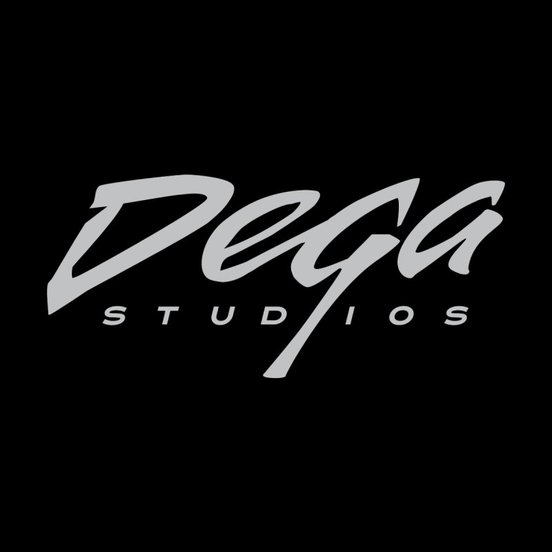 Dega Classic Logo – Dark Men's T-Shirt by Dega Studios