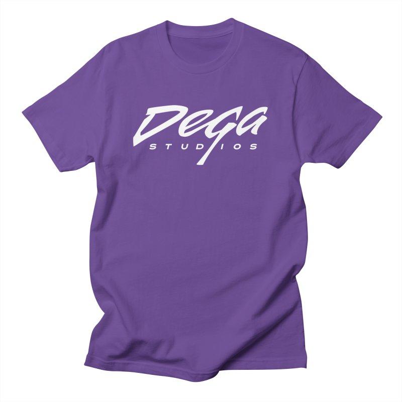 Dega Classic Logo – Dark Men's T-Shirt by Dega Studios