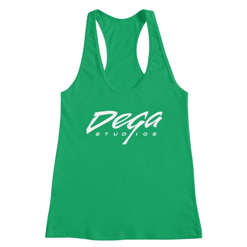 Dega Classic Logo – Dark Women's Tank by Dega Studios