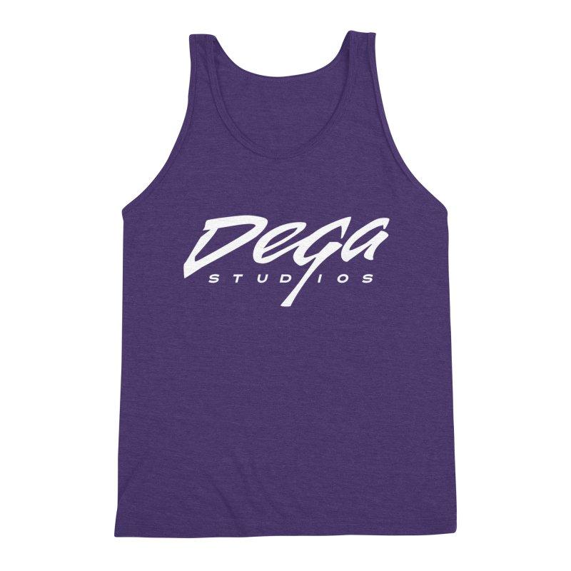 Dega Classic Logo – Dark Men's Tank by Dega Studios