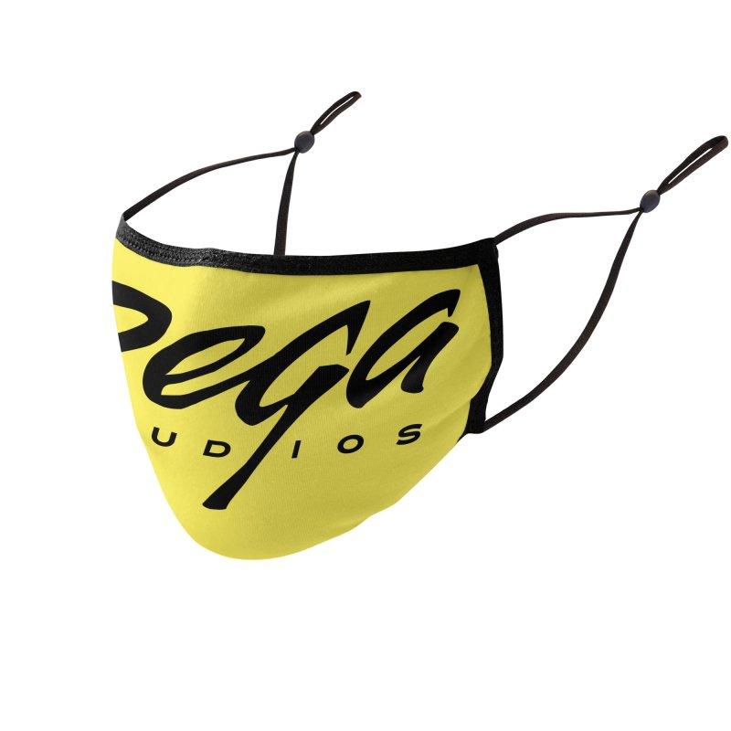 Dega Classic Logo – Light Accessories Face Mask by Dega Studios